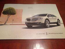 2014 Lincoln MKX 10-page Original Sales Brochure