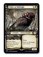Order of Midnight - Showcase Frame - Throne of Eldraine - NM - English - MTG