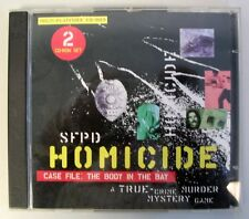 VINTAGE SFPD HOMICIDE CASE FILE BODY IN THE BAY PC GAME Complete VG!