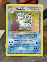 1999 Blastoise 2/102 Base Set Unlimited - Pokemon Card - Moderate to Heavy Play