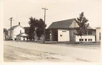 White Cloud MI~Little Rustic Methodist Church~Real Photo Postcard RPPC c1950