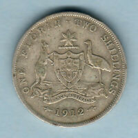 Australia.  1912 Florin.. aFine
