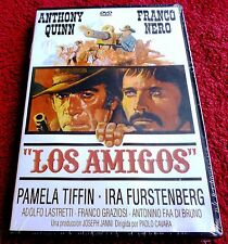 LOS AMIGOS - Anthony Quinn / Franco Nero - English/Español DVD R ALL Precintada