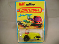 1975 MATCHBOX LESNEY SUPERFAST #21 ROD ROLLER NEW MOC