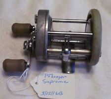 PFLUEGER SUPREME REEL  3/17/16B  HANDLE AND SIDE PLATE GUARDS