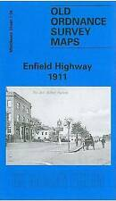 OLD ORDNANCE SURVEY MAP Enfield Highway 1911: Middlesex Sheet  07.04