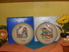 Hummel Goebel Lot Happy Pastime And Singing Lessons 1978-1978 Ltd Edition New
