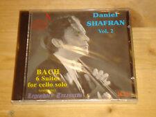 Bach Six Suites for Cello Solo DANIEL SHAFRAN rec. 1969-74 DOREMI 2CD NEW SEALED