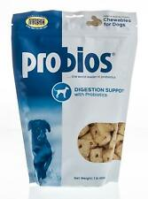 Probios Dog Treats, Digestion Support, Peanut Butter, 1 lb