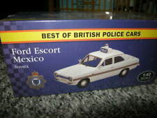 1:43 Vanguards/Atlas Ford Escort Mexico Police Sussex OVP