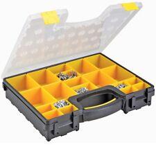 Plastic 20 Bin Medium Portable Bolts Nuts Small Parts Bin Storage Organizer Case