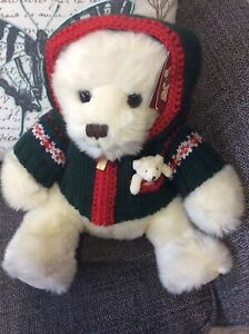 Harrods Foot Dated  Teddy Bear 2006 With Tags