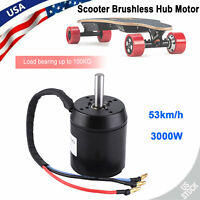 Electric Scooter 6374 Hub Strong Power Waterproof Brushless Motor 170KV 3000W US