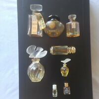 Collection Lot 8 Vintage Scent Perfume Bottles 1960s 1970s French BIN OBO FS