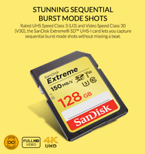 SanDisk Memory Card Extreme SDHC/SDXC SD Card 32GB,64GB,128GB,256GB