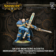 Warmachine - Mercenaries: Savio Montero Acosta PIP41132