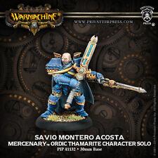 Warmachine - Mercenaries: Savio Montero Acosta PIP41132