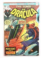 TOMB of DRACULA #20 FN 6.0 MARVEL COMICS Bronze Werewolf 1970s Colan Wolfman