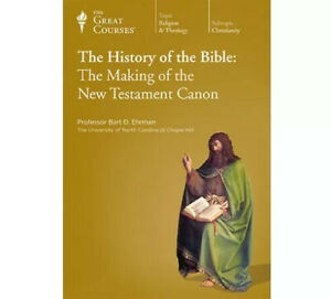 The Great Courses History of the Bible: Making of the New Testament Canon CD's