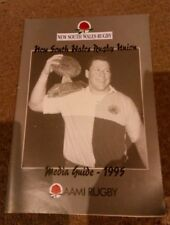 NSW Rugby union media guide 1995