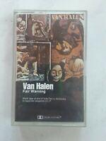Van Halen Fair Warning Audio Cassette Tape Warner 1981 No Barcode