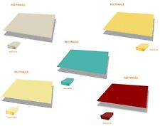Customize Straight Edge Waterproof Sun Shade Sail Uvblocker Patio Pool Cover 15'