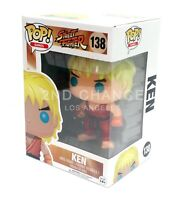 New Funko Pop Street Fighter Ken 138 Vinyl Figure MINT BOX