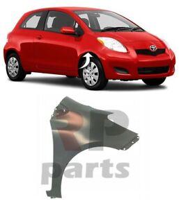 Für Toyota Yaris 09-11 Neu Vorne FENDER Flügel Für Malerei Hatchback Rechts O/S