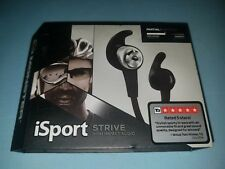 Monster iSport Strive High Impact Audio Partial Isolation Headphones Black