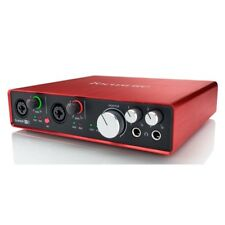 Focusrite Scarlett 6i6 2nd Generation 6 in / 6 out 24/192KHZ USB Audio Interface