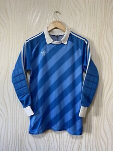 ADIDAS 1990s GOALKEEPER FOOTBALL SHIRT SOCCER JERSEY VINTAGE