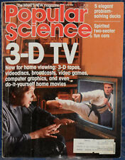 Magazine POPULAR SCIENCE June 1988 !3-D Television!, *Spirited Two-Seater CARS*