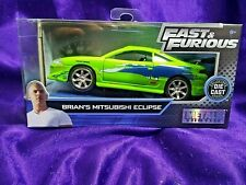 Fast & Furious Brian's Mitsubishi Eclipse Collectors Series Die-Cast 1:32 Scale