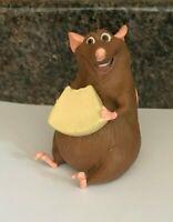 DISNEY PIXAR RATATOUILLE EMILLE EMILE RAT WITH CHEESE HARD BODIED
