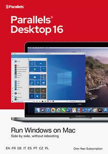 Parallels Desktop 16 Standard für MAC *1-Jahr* (ESD) / KEY