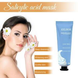 Salicylic Acid Ultra Cleansing Mask Ice Cream Mask Fades Acne Marks Whitening UK