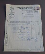 ORLEANS (Loiret) produits vétérinaires Adrien Sassinadri facture 1955