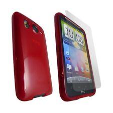 housse étui coque gel silicone pour HTC Desire HD + film de protection