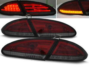 LED REAR TAIL LIGHTS LDSE12 SEAT LEON 2005 2006 2007 2008 2009 RED SMOKE