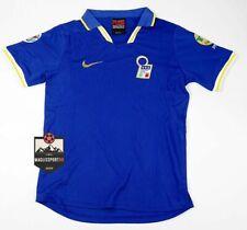 Maglia Italia Euro 1996 - Retro Vintage Juve Calcio Italy Baggio Del Piero Maldi