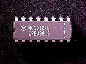 MC10124L - Motorola Quad TTL to MECL Translator (CERDIP-16) GENUINE