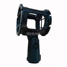 Black Shock Mount Shotgun Microphone Suspension Bracket for Diaphragm Hot New CA