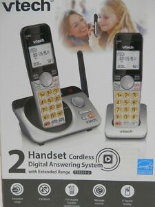 VTECH *CS5229-2* 2 HANDSET CORDLESS DIGITAL ANSWERING SYSTEM W/EXTENDED RANGE