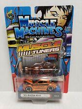 Muscle Machines Muscle Tuners '03 Mazda RX-8 Orange 1/64 2004 HTF