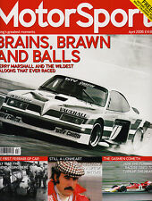 Motor Sport Apr 2006 - Team Vauxhall, Super Saloons, Regazzoni, Gas Turbine Race