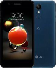 SMARTPHONE LG K9 LM-X210EM BLUE 5'' Cellulare 16Gb -No Dual Sim GRADO A