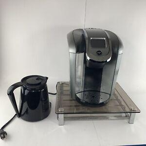 Keurig Coffee Maker K2.0-500 K Cup Pod Single Serve Brewer Drawer Carafe Lot