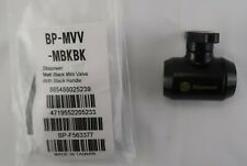 Bitspower G14 Matte Black Mini Valve With Black Handle Bp Mvv Mbkbk
