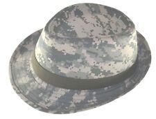 Camouflage Fedora Hat-universal digital camo-Youth Size Cap-8~20-sm