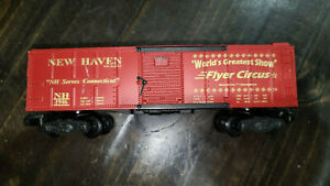 AMERICAN FLYER CIRCUS NEW HAVEN 1946 RR BOXCAR, LOT # 1158